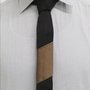 Other - Tie-Jitsu - Black Tie with Brown Belt Ranking Bar
